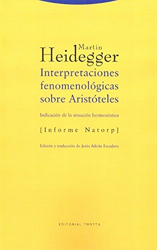 Download Interpretaciones Fenomenologicas Sobre Aristoteles (Filosofia) (Spanish Edition) PDF