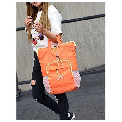 Unisex Bags All Season Nylon Shoulder Bag Zipper for Orange Purple Light Green Fuchsia Sky Blue