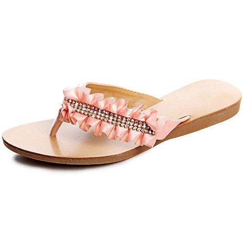 topschuhe24 - Sandalias de vestir de otros para mujer rosa - rosa