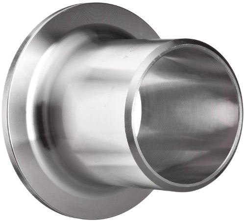 Stainless Steel 304/304L Pipe Fitting, Type A MSS Stub End, Butt-Weld, Schedule 10, 1-1/2