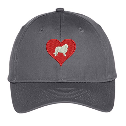 Lane Weston Border Collie Dog Mom Embroidered Baseball Hat for Women