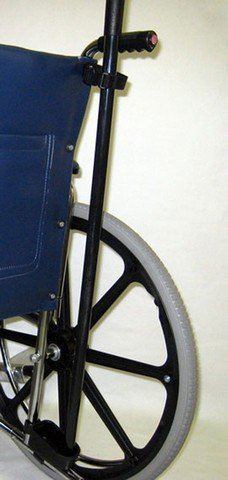 New Solutions AC062 Wheelchair Mounted Cane Crutch Holder44; 3 x 3 x 4 in.