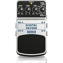 Behringer TPK984 Digital Stereo Reverb Effects Pedal Package