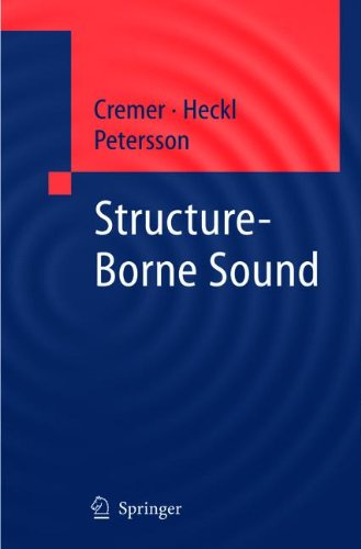 Download Structure-Borne Sound: Structural Vibrations and Sound Radiation at Audio Frequencies pdf