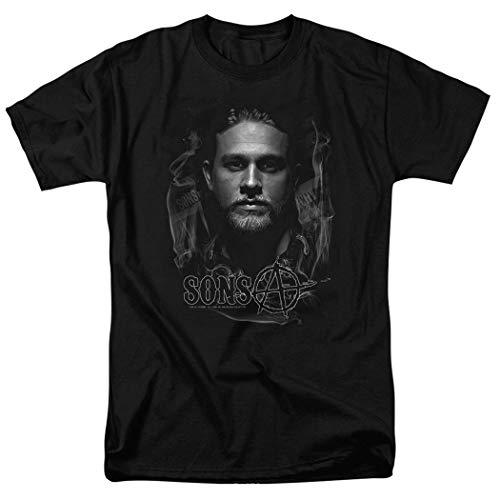 Sons of Anarchy Jax Teller T Shirt & Stickers (XXX-Large) Black