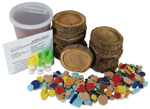 Mosaic Coaster Kit - Woodland Mosaic Coaster Kit