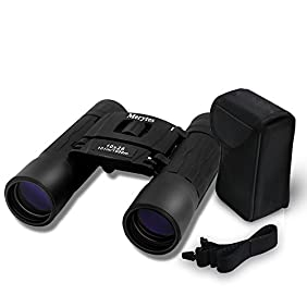 Binoculars with 10x25 Portable High Definition and Blue Film by Merytes