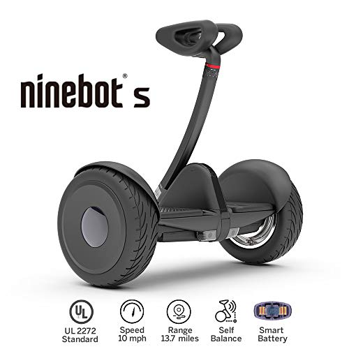 (Segway Ninebot S Smart Self Balancing Transporter - Pro Hoverboard for Adults & Kids - Dual 400W Motors UL2272 Certified (Black))