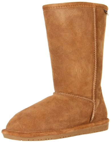 BEARPAW Kids Girls' Emma Tall (Little Big Kid), Hickory, 5 M