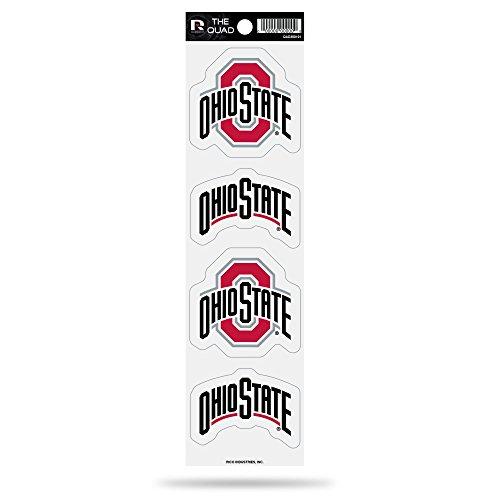(Rico NCAA Ohio State Buckeyes Quad Decal)