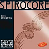 Thomastik-Infeld 3874.5 Spirocore Double Bass Single E String, 1/4 Size, Steel Core Chrome Wound