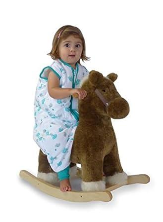 Slumbersac Saco de dormir de verano con pies 0.5 Tog - Bamboo Muslin Blue Elephant - 3-4 años/110cm