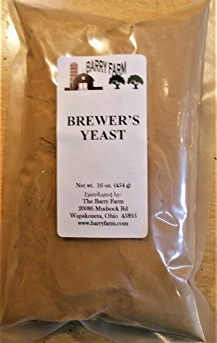 Yeast Brewers Dry (Brewers Yeast, 1 lb.)