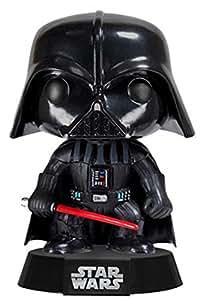 FUNKO Pop! Star Wars: Darth Vader Collectible figure Star Wars - action figures & collectibles (Collectible figure, Dibujos animados, Star Wars, Negro, Rojo, Vinilo, Caja)