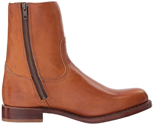 Frye Mens Campus Allinterno Zip Mid Calf Boot Cognac