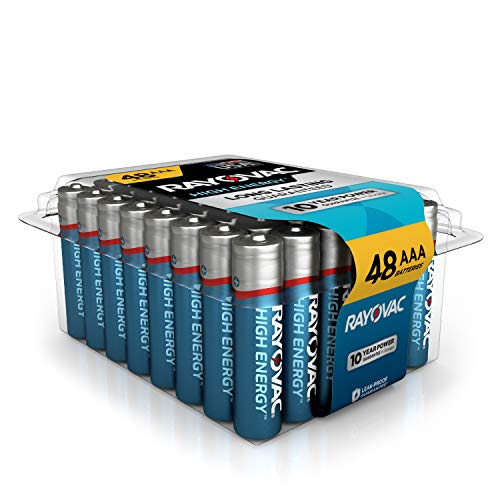 Rayovac AAA Batteries, Alkaline Triple A Batteries (48 Battery Count)