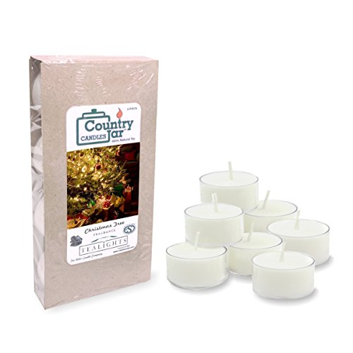 (Country Jar Christmas Tree Soy Tea Light Candles (8-Pack/.75 oz. ea.) Spring Pick-3 Sale! See Details.)