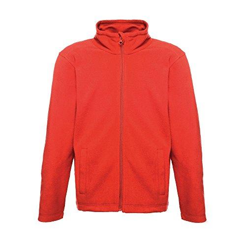Regatta Childrens/Kids Brigade II Micro Fleece Jacket (11-12 Years) (Classic Red) from Regatta