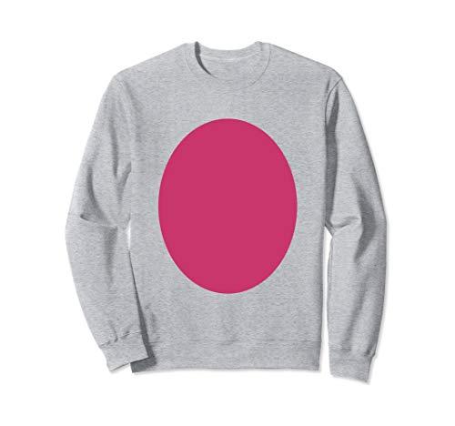 Pig Belly Costume - Funny Pink Pig Halloween Costumes Sweatshirt