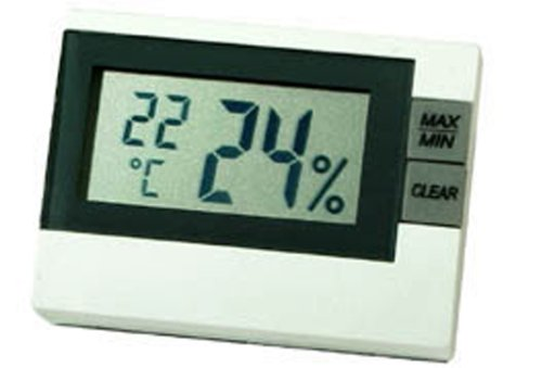 - Mini Hygro-Thermometer -Audio/Video/Electronics-Weather Radios-P3 INTERNA
