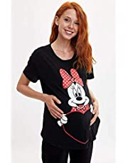 DeFacto Walt Disney Lisanslı Relax Fit Hamile Üst