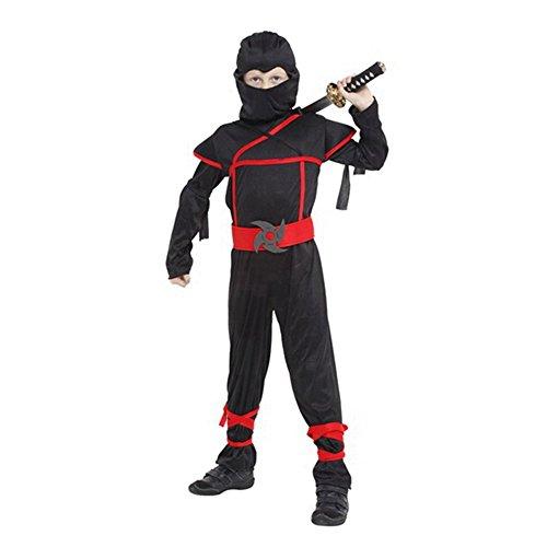 Ninja Costume Sets Halloween Cosplay Dress Up for Boys Toddlers