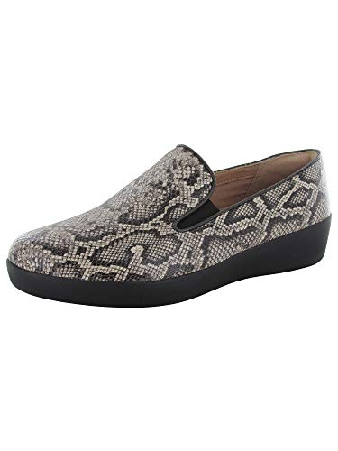 - FitFlop Women's Superskate Sneaker, Taupe Snake, 9 M US