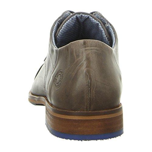 BULLBOXER 699k26303ap657 - Zapatos de cordones de Piel Lisa para hombre dk grey (p657)