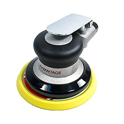 Image of AirVANTAGE 5' Random Orbital Palm Sander with Pad (3/16' Orbit with Hook and Loop Pad)