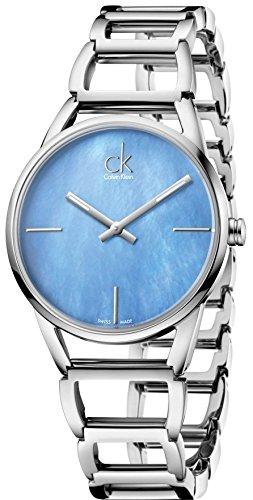 Calvin Klein K3G2312N Blue Mother Of Pearl Dial Ladies Watch