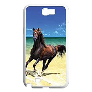 T-TGL(RQ) Custom Horse Pattern Protective Phone Case for Samsung Galaxy Note 2 N7100