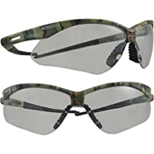 Nemesis Safety Spectacles - camouflage frame/clear anti-fog lens