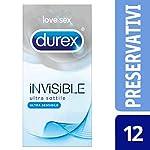 Durex-Invisible-Preservativi-Ultra-Sottili-ad-Alta-Sensibilit-12-Profilattici