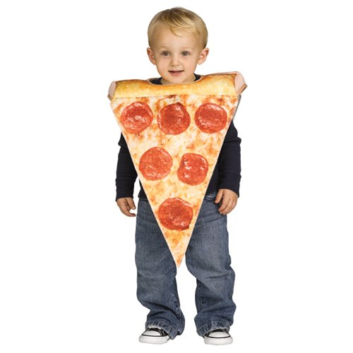 Toddler Lil Pizza Slice Halloween Costume Size 3T-4T]()