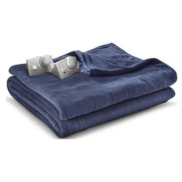 Biddeford MicroPlush Analog King Electric Blanket, Blue COMINHKR068733