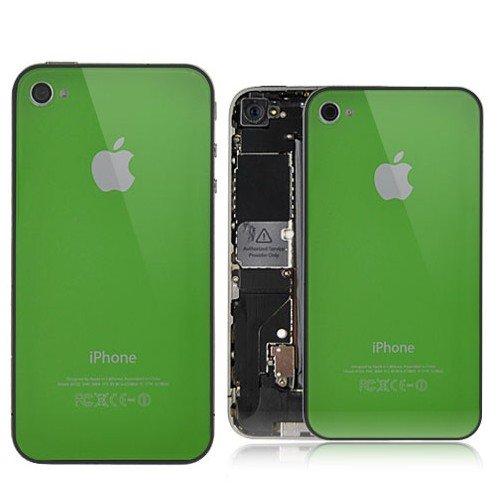 Tapa trasera para Apple iPhone 4 (cristal, incluye logotipo ...