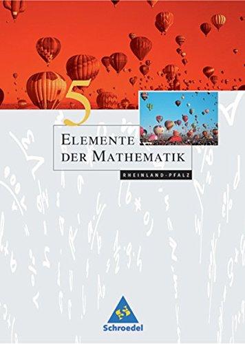 Elemente der Mathematik SI - Ausgabe 2005 für Rheinland-Pfalz: Schülerband 5