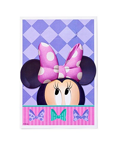 American Greetings Minnie Mouse Party Supplies, Treat Bags, 8-Count]()