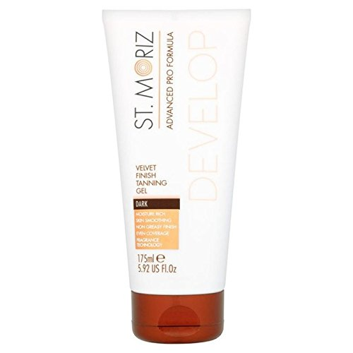 St Moriz Gel Dark Advanced Pro Formula 175ml (PACK OF 4)