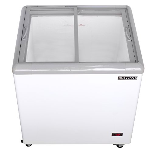 "Maxx Cold MXF31F 31"" 7.5 cu ft Commercial Mobile Ice Cream Display Freezer by MAXX Cold"