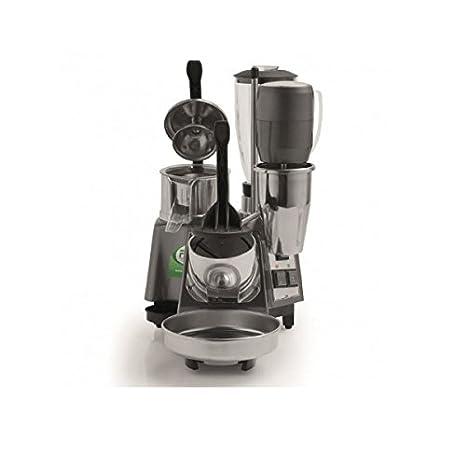 Grupo Bar MG50 - Picadora de hielo 340 W - Exprimidor de palanca 340 W - Licuadora 400 W - Varilla 150 W Fama: Amazon.es: Hogar