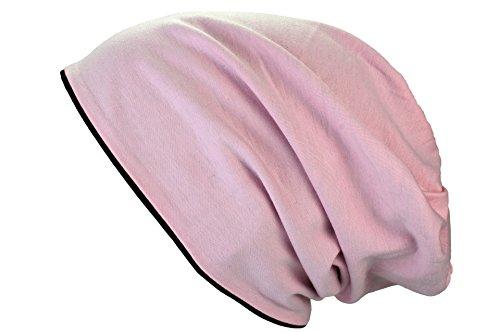 de dos Rosa reversible Lungo tonos colores Gorra diferentes Jersey Negro in y XL nxBO4wZR1