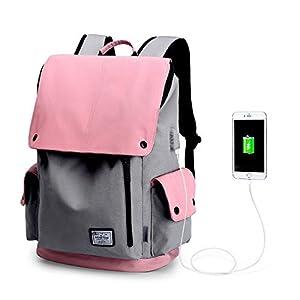 WindTook Sac à Dos Loisir pour Ordinateur Portable 15 Pouces avec Port de Charge USB Sac a Dos Femme ou Homme pour…