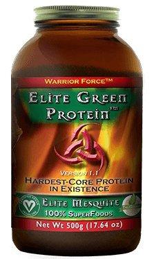 HealthForce SuperFoods Elite Green Protein Elite Mesquite 500 Grams Powder