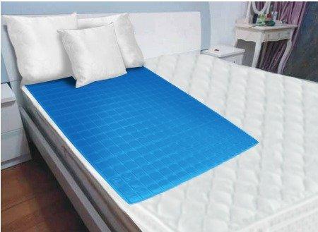 cooling gel mattress topper Amazon.com: NEW Luxury Cool Gel Mattress Pad LARGE Best Cooling  cooling gel mattress topper