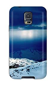 Excellent Galaxy S5 Case Tpu Cover Back Skin Protector Rays Fall Into Ice World