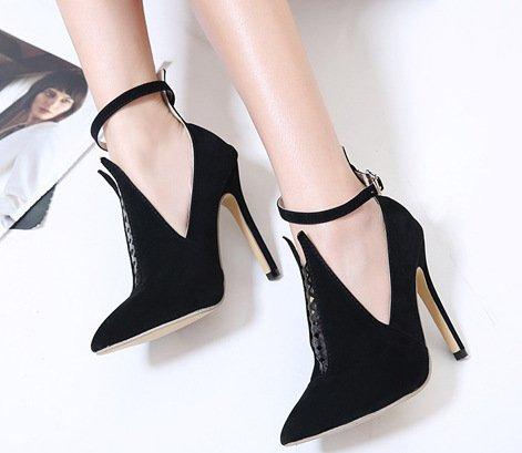 ZHUDJ High Heels High Heels Sandalen Schuhe Rom Thirty-six