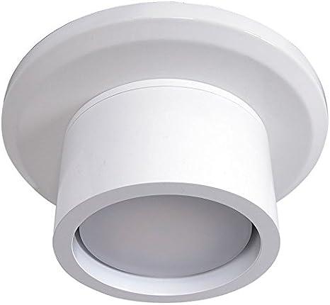 Unidad de iluminación Lucci Fini A para ventilador de techo Climate I y Climate II, de metal, GX53, 15,3x 7cm, metal, Blanco, 15,3 x 15,3 x 7 cm, GX53 240volts