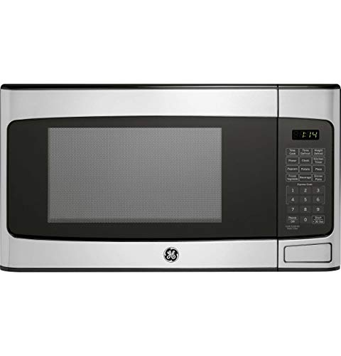 GE 1.1 Cu Ft Countertop Stainless Steel Microwave Oven JES1145SHSS (Certified Refurbished)