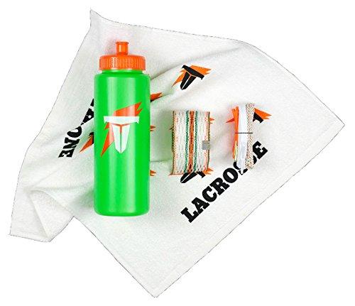 Sweat Towel Water Bottle: [해외]왕좌 라크로스 한정판 퀀처 팩 섬유 2 메쉬 및 끈~ 물병~ 땀이 타월/Throne